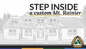 custom mt rainer plan home built by adair youtube
