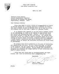 School No Letter Of Recommendation Yale School Cover Letter 4300