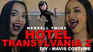 halloween costume ideas yahoo answers hotel transylvania 2 diy costume for mavis merrell twins youtube