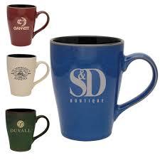 Ceramic Coffee Mugs Custom Printed Two Tone Ceramic Mugs 16 Oz Coffee Mug Wholesale