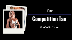 your competition tan what to expect get fit go figure