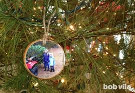 diy turn your tree into its own ornaments bob vila