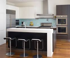 new trends in kitchen countertops overhang thickness colors kitchen by levy art architecture