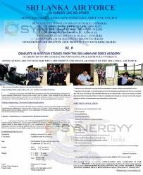 graduate in aviation studies from the sri lanka air force academy