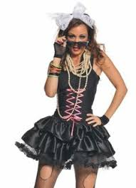 Xl Womens Halloween Costumes 80 U0027s Punk Lady Size Costume 80s Halloween Costumes