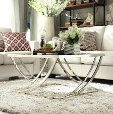 brushed nickel coffee table nickel coffee table tanner rectangular coffee table nickel finish