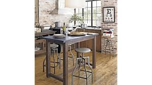 Bar Stool For Kitchen Turner Gunmetal Adjustable Backless Bar Stools And Linen Cushion