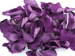 real petals purple real preserved petals wedding petals silk