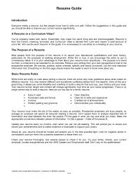 Good Sample Resumes by Good Resume For A Job Free Resume Example And Writing Download