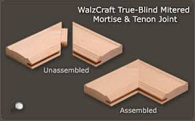 Mortise And Tenon Cabinet Doors Mitered Cabinet Doors Walzcraft