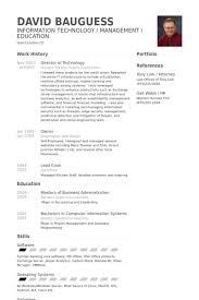 Information Technology Resume Samples by Director Of Technology Resume Samples Visualcv Resume Samples