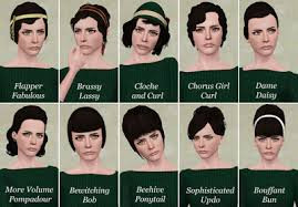 1800s hairstyles for sims 3 my sims 3 blog 10 retro hair retextures by pretty lady babies