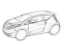 paulo ungaretti paleo konno car sketch tutorial
