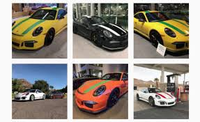 porsche 911 best color porsche 911 rs are showing up in all sorts of and funky