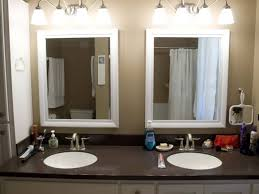 Design Ideas For Brushed Nickel Bathroom Mirror Bathrooms Design Lovely Vanity Mirrors For Bathroom With Brushed
