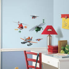 Disney Bedroom Wall Stickers Planes Fire U0026 Rescue Wall Decals Roommates