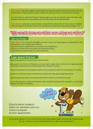 secure home design group wave art solutions eager beavers preschool leaflet design