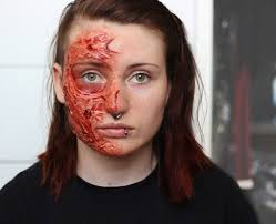 Halloween Liquid Latex Makeup by Simple Sfx Freddy Krueger Burn Video The Walrus Room