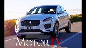 all new 2018 jaguar e pace l driving scenes l clip youtube