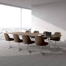 Designer Boardroom Tables Contemporary Boardroom Table Wood Veneer Aluminum Laminate