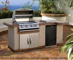 Outdoor Kitchen Grills 8 Ft Outdoor Kitchen With Extra Countertop Cal Flame Lbk820