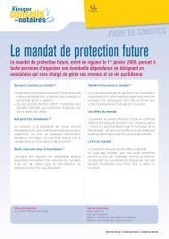 chambre interd駱artementale des notaires de mandat de protection future chambre interdépartementale des