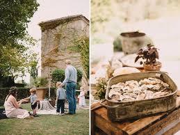 Rustic Weddings Rustic Wedding In French Wine Country Karen Steve Green