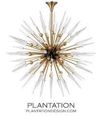 Vanguard Lighting Vanguard Chandelier Brass Plantation