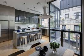 townhouse design contemporary appearance camouflaging brooklyn roots slate street
