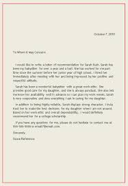 ideas of i want to write a letter of recommendation with format