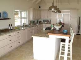 White Marble And Granite Top Kitchen Island  Kitchen Island As - Kitchen island dinner table