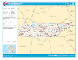 Map Of Nashville Tn Map Of Tennessee Street Map Worldofmaps Net Online Maps And