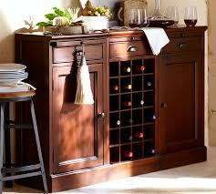 modular bar buffet with 2 cabinet bases u0026 1 wine grid base