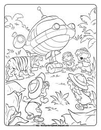 disney coloring pages and sheets for kids little einsteins 4