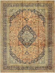 Kashan Persian Rugs by Peach 9 U0027 9 X 13 U0027 4 Kashan Persian Rug Persian Rugs Rugs Ca