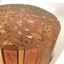 recycled wood organicawards stoolen recycled wood stool