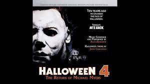 01 halloween 4 theme youtube