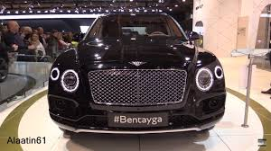 black bentley interior bentley bentayga 2016 2017 in depth review interior exterior
