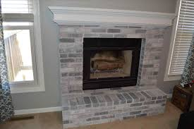 photo gallery fireplaces painted brick fireplace modern to warm