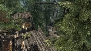 treehouse playerhome without load doors at skyrim nexus mods