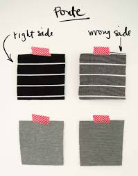 fall and winter fashion knits fabric guide sewing party