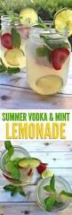 refreshing summer vodka mint lemonade cocktail recipe mint