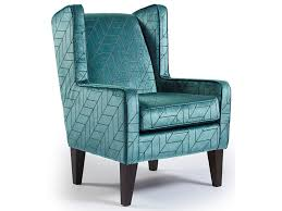 best home furnishings chairs wing back karla modern wing chair