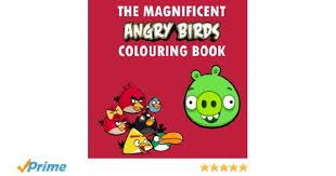 magnificent angry birds colouring book coloring colouring