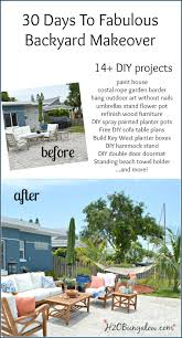 diy backyard makeover projects reveal h20bungalow