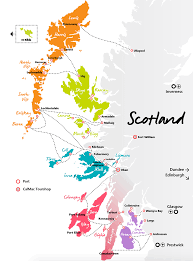 Map Scotland Scotland Island Hopping On The Inner Hebrides And Western Isles