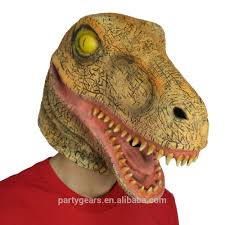 raptor mask halloween dinosaur mask dinosaur mask suppliers and manufacturers at