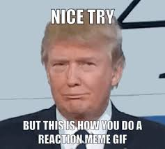 Animated Gif Meme - when your friend tries to send you a reaction meme gif album on