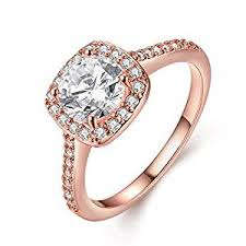 how much do engagement rings cost eternity women s pretty 18k gold plated