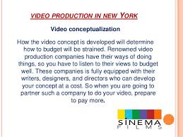 Nyc Production Companies The Best Way Of Estimating Video Production Budget In New York Based U2026